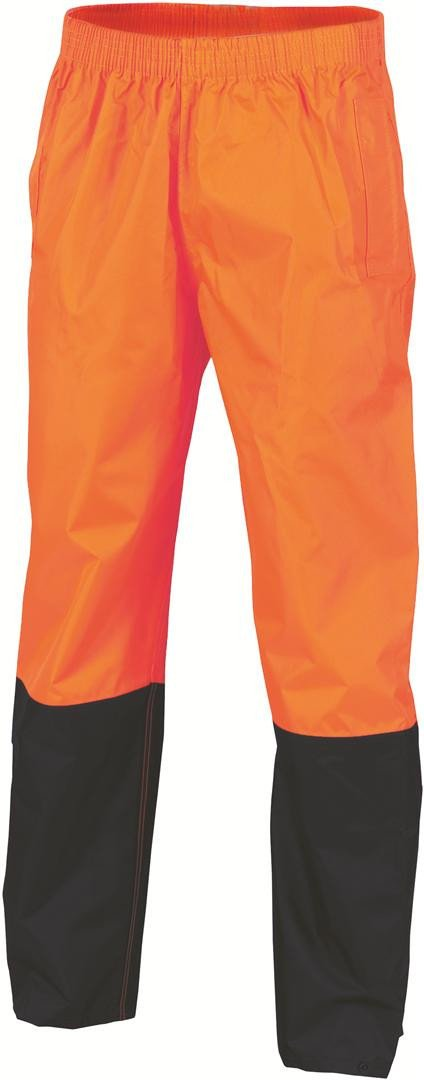 DNC HiVis Two Tone Lightweight Rain Trousers (3878)