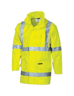 "DNC HiVis Cross Back D/N ""2 in 1"" Contrast Rain Jacket (3995)"