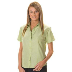 DNC Workwear-DNC Ladies Cool-Breathe S/S Shirt--Uniform Wholesalers - 1