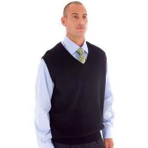 DNC Workwear-DNC Wool Blend Knit Vest--Uniform Wholesalers - 1