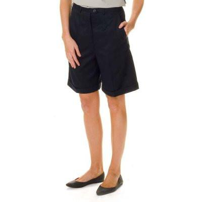 DNC Ladies P/V Flat Front Shorts (4551)