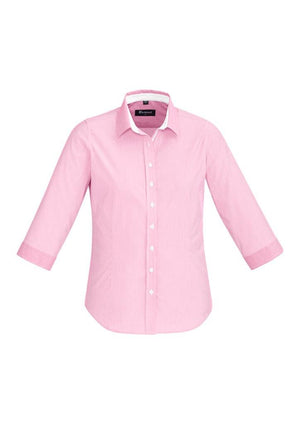 Biz Corporates-Biz Corporate Fifth Avenue Ladies 3/4 Sleeve Shirt-Melon / 4-Corporate Apparel Online - 7