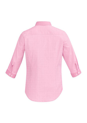 Biz Corporates-Biz Corporate Fifth Avenue Ladies 3/4 Sleeve Shirt--Corporate Apparel Online - 8