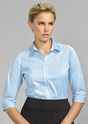Biz Corporates-Biz Corporate Fifth Avenue Ladies 3/4 Sleeve Shirt--Corporate Apparel Online - 1