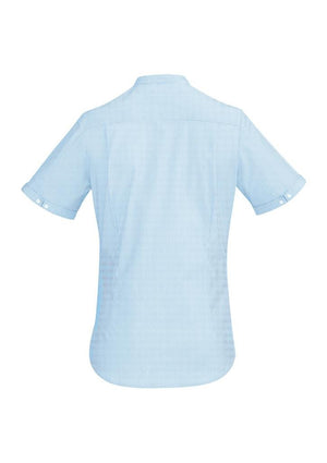 Biz Corporates-Biz Corporate Bordeaux Ladies Short Sleeve Shirt--Corporate Apparel Online - 4