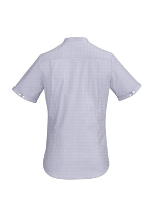 Biz Corporates-Biz Corporate Bordeaux Ladies Short Sleeve Shirt--Corporate Apparel Online - 10