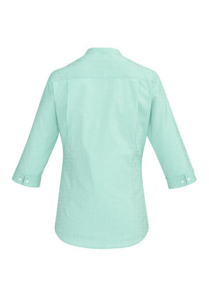 Biz Corporates-Biz Corporate Bordeaux Ladies 3/4 Sleeve Shirt--Corporate Apparel Online - 6