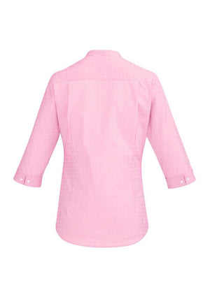Biz Corporates-Biz Corporate Bordeaux Ladies 3/4 Sleeve Shirt--Corporate Apparel Online - 8