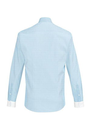Biz Corporates-Biz Corporate Fifth Avenue Mens Long Sleeve Shirt--Corporate Apparel Online - 4