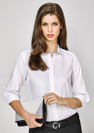 Biz Corporates-Biz Corporates Herne Bay Ladies 3/4 Sleeve Shirt--Corporate Apparel Online - 1