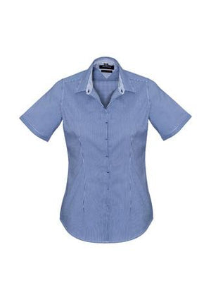 Biz Corporate Newport Ladies Short Sleeve Shirt (42512)