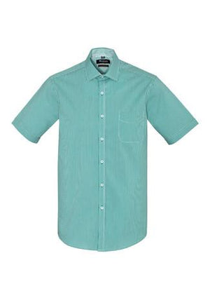 Biz Corporate Newport Mens Short Sleeve Shirt (42522)