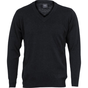 DNC Workwear-DNC Men's Wool Blend Knit Jumper--Uniform Wholesalers - 2
