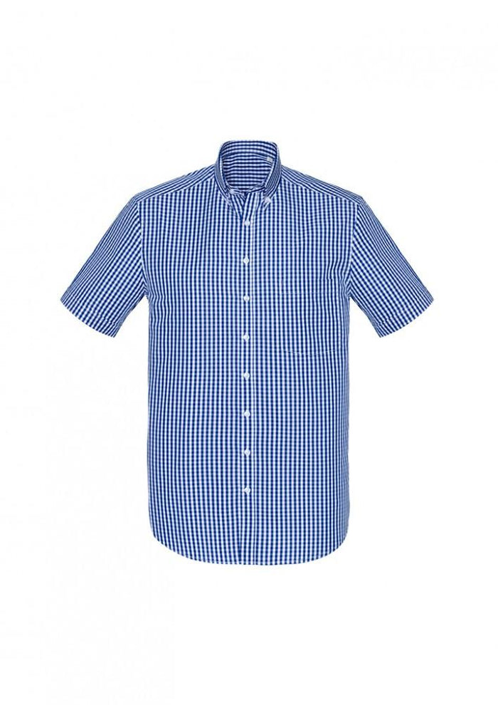 Biz Corporate Springfield Mens Short Sleeve Shirt (43422)