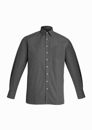 Biz Corporate Mens Oscar Long Sleeve Shirt (44520)