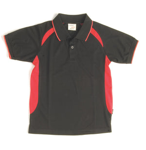 DNC Workwear-DNC Contrast Raglan Mesh Polo S/S--Uniform Wholesalers - 1