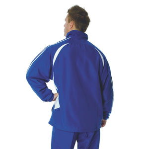 DNC Workwear-DNC Adults Ribstop Athens Track Top-Royal/White / S-Uniform Wholesalers - 7