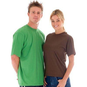 DNC Workwear-DNC Adult 190gsm Combed Cotton Jersey Tee--Uniform Wholesalers - 1