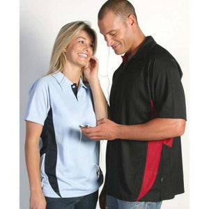 DNC Workwear-DNC Adult Cool-Breathe Side Panel Polo Shirt--Uniform Wholesalers - 1