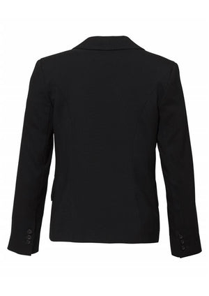 Biz Corporates-Biz Corporates Ladies Short to Mid Length Jacket--Corporate Apparel Online - 3