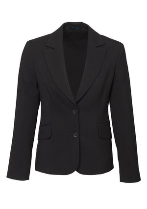 Biz Corporates-Biz Corporates Ladies Short to Mid Length Jacket-Charcoal / 4-Corporate Apparel Online - 4