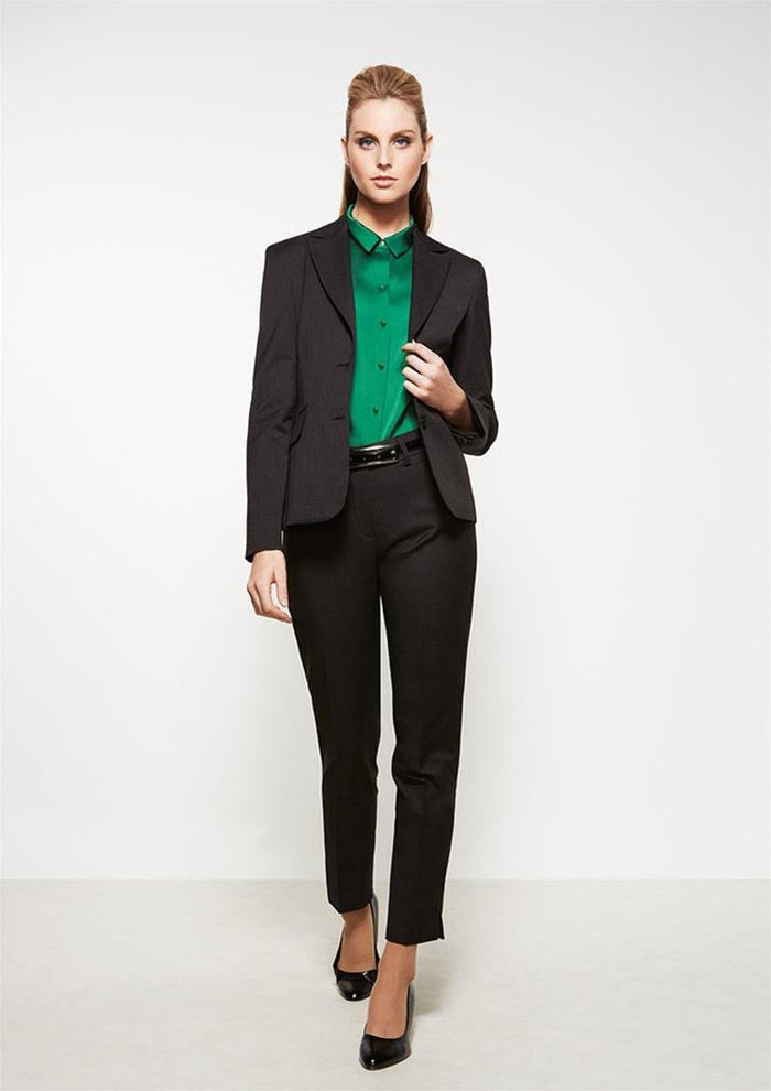 Biz Corporates Ladies Short to Mid Length Jacket (60111)
