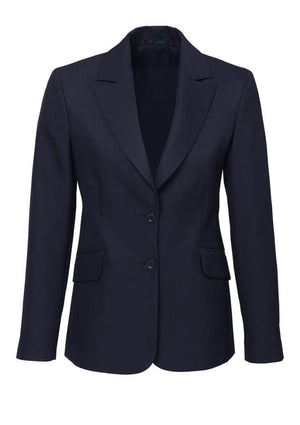 Biz Corporates-Biz Corporates Ladies Longerline Jacket-Navy / 4-Corporate Apparel Online - 6