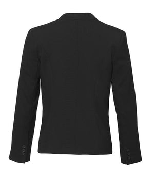 Biz Corporates-Biz Corporates Ladies Short Jacket with Reverse Lapel--Corporate Apparel Online - 3
