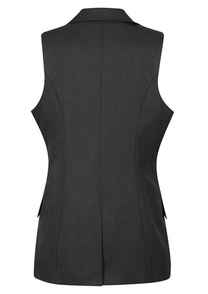 Biz Corporates-Biz Corporates Ladies Longline Sleeveless Jacket--Corporate Apparel Online - 5