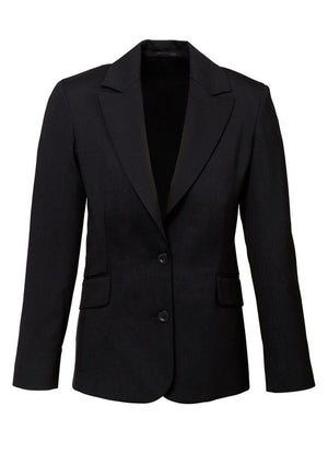 Biz Corporates-Biz Corporates Ladies Longerline Jacket-Black / 4-Corporate Apparel Online - 2