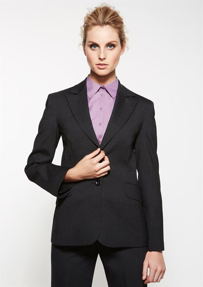 Biz Corporates Ladies Longerline Jacket (64012)