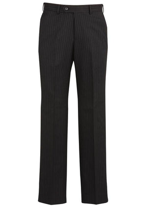 Biz Corporates-Biz Corporates Flat Front Pant-Black / 77-Corporate Apparel Online - 2