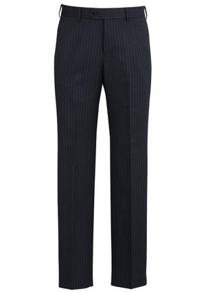 Biz Corporates-Biz Corporates Flat Front Pant-Navy / 77-Corporate Apparel Online - 6