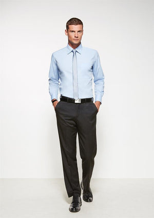 Biz Corporates-Biz Corporates Flat Front Pant--Corporate Apparel Online - 1