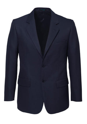 Biz Corporates-Biz Corporates Men's Single Breasted 2 Button Suit Jacket-Navy / 92-Corporate Apparel Online - 6