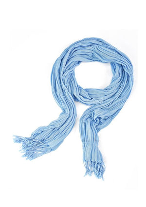 Biz Corporates-Biz Corporates Ladies Monotone Woven Scarf-Alaskan Blue-Corporate Apparel Online - 2