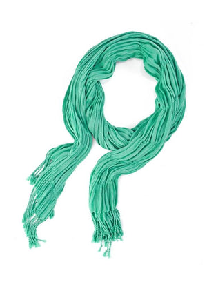 Biz Corporates-Biz Corporates Ladies Monotone Woven Scarf-Dynasty Green-Corporate Apparel Online - 4