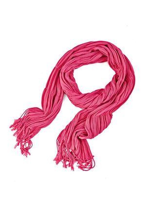 Biz Corporates-Biz Corporates Ladies Monotone Woven Scarf-Melon-Corporate Apparel Online - 5