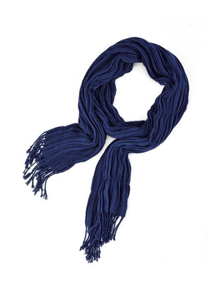 Biz Corporates-Biz Corporates Ladies Monotone Woven Scarf-Patriot Blue-Corporate Apparel Online - 6