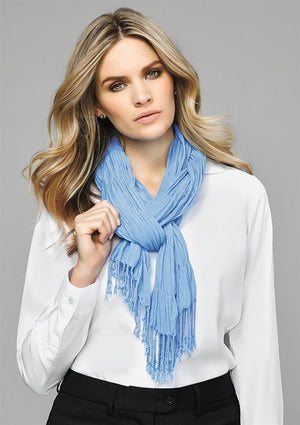 Biz Corporates-Biz Corporates Ladies Monotone Woven Scarf--Corporate Apparel Online - 1