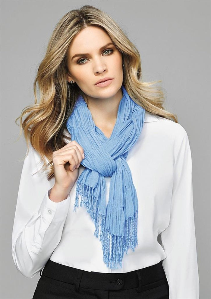 Biz Corporates Ladies Monotone Woven Scarf (99000)