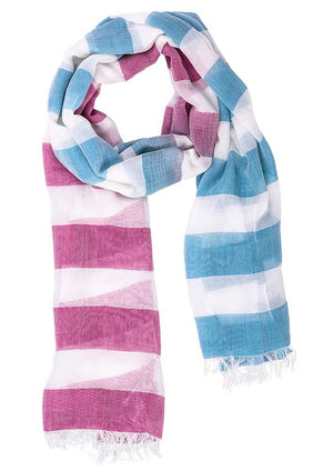 Biz Corporates-Biz Corporate Ladies Two Tone Scarf--Corporate Apparel Online - 4