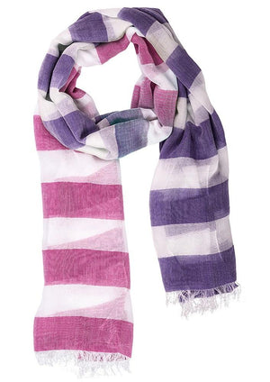 Biz Corporates-Biz Corporate Ladies Two Tone Scarf--Corporate Apparel Online - 5