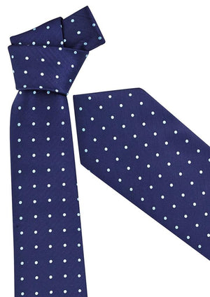 Biz Corporates-Biz Corporates Mens Spot Tie-Alaskan Blue-Corporate Apparel Online - 2