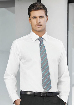 Biz Corporates-Biz Corporates Mens Single Contrast Stripe Tie--Corporate Apparel Online - 1