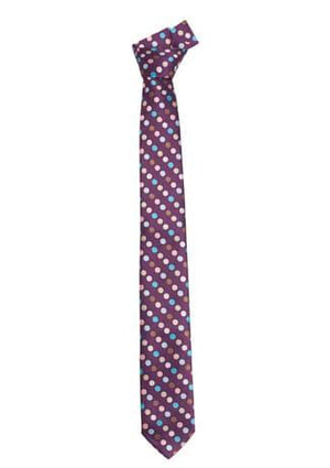 Biz Corporate Mens Multi Spot Tie (99105)