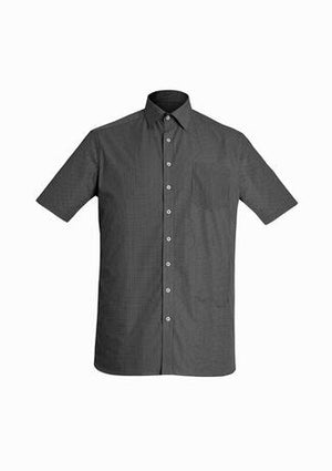 Biz Corporate Mens Oscar Short Sleeve Shirt (44522)
