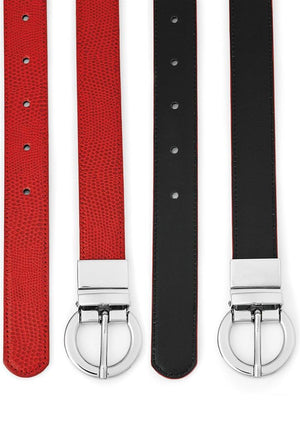 Biz Corporates-Biz Corporates Ladies Leather Reversible Belt--Corporate Apparel Online - 3