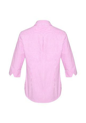 Biz Corporates-Biz Corporates Advatex Lindsey Ladies 3/4 Sleeve Shirt--Corporate Apparel Online - 7