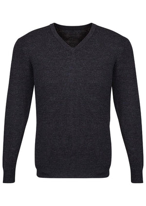 Biz Corporates-Biz Corporate Advatex Varesa Mens Pullover-Charcoal / XS-Corporate Apparel Online - 3